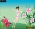 Dress up the flower fairy as you see fit